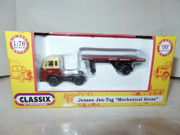 Classix EM76509 1/76 OO Scale Jensen Jen Tug Flatbed British Railways